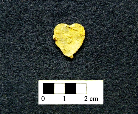 Can you guess what this heart shaped artifact is?