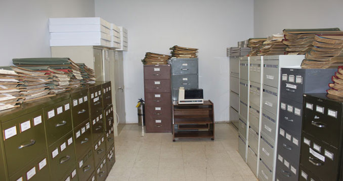 Archives at the Kingston Archaeological Centre