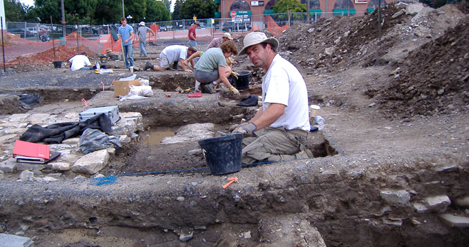 K-Rock Centre excavations, Cartwright property Kingston, Ontario